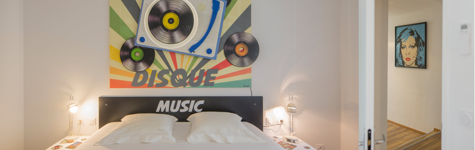 Chambre d'hôte Vinyl à Carcassonne