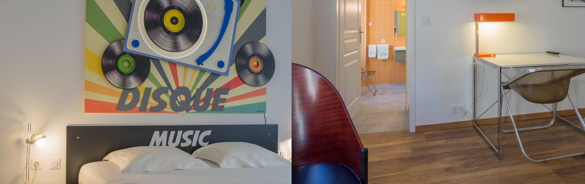 Maison Vintage chambre Vinyl