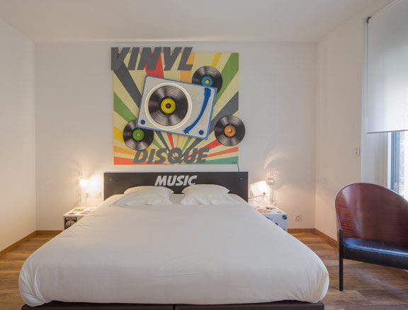 Chambre Vinyl Maison Vintage